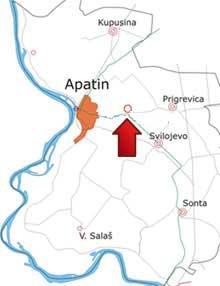 apatin karta srbije Mapa | Banja Junaković apatin karta srbije